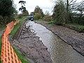 Drained Canal at Lock No 7 Nov 2008 - geograph.org.uk - 1453547.jpg