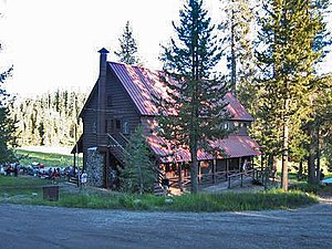 National Register of Historic Places listings in Plumas County, California - Image: Drakesbad Lodge NPS