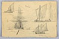 Drawing, Sketches. Ships, Venice, Italy, October 1872 (CH 18369027).jpg