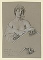 """Drawing, Study for """"Muse of History"""", ca. 1895 (CH 18404509).jpg"""