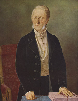 Johan Christian Drewsen - J. C. Drewsen painted by Jørgen Roed in 1843