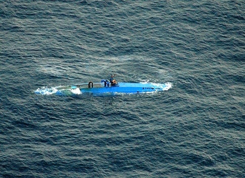 Drug submarine