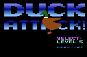 Duck Attack! - Duck Attack! title screen