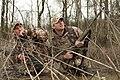 Duck hunters in a swamp 01.jpg