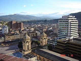 Duitama Place in Boyacá, Colombia