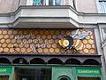 Dwelling building. Farm shop decor. - 37 Ferenc Boulevard, Budapest District IX.JPG