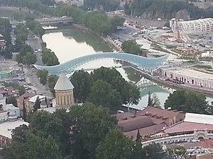 Always (brand) - Bridge of Peace, Tbilisi, Georgia