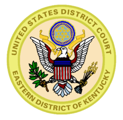 Seal of the United States District Court for the Eastern District of Kentucky