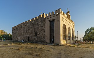 Church of Our Lady Mary of Zion Ancient church in Axum, claimed location of the Ark of the Covenant