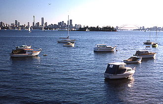Vaucluse, New South Wales - Sydney Harbour, view from Vaucluse
