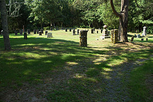 East Rochester Church and Cemetery Historic District - Image: East Rochester Cemetery