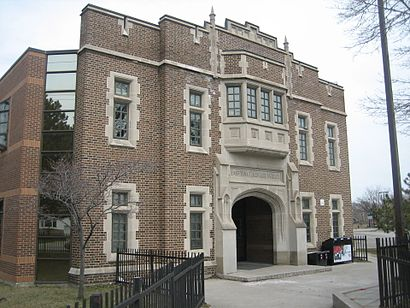 How to get to East York Collegiate Institute with public transit - About the place