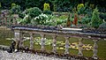 Easton Lodge Gardens, Little Easton, Essex, England ~ sunken garden pool balustrade 02.jpg