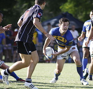 Queensland Premier Rugby - Easts vs Souths at Bottomley Park, 11 April 2015