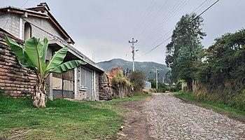 Ecuador Oyambaro calle 01