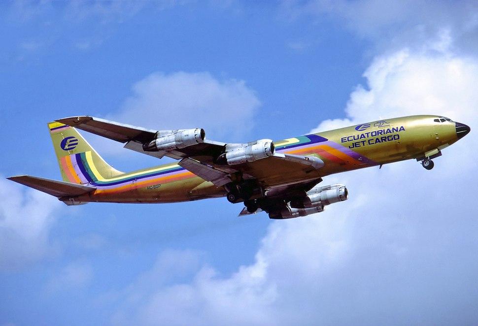 Ecuatoriana Boeing 707-321C Hoppe