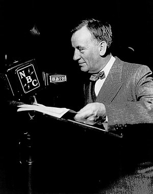 Edgar Guest - Guest on his radio program, 1935.