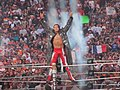 Edge's Wrestlemania XXVI entrance.jpg