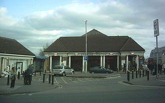 Stanley Heaps - Edgware Underground station