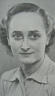 Edith Bonnesen Danish resistance member in World War II