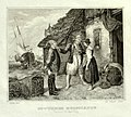 Eduard Schuler (1806 – 1882), Stahlstich, Heiratsantrag auf Helgoland, nach R. Jordan, D1745.jpg