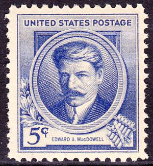 Edward MacDowell - Edward A. MacDowell, US Postage, Issue of 1940