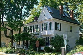 Edward Hopper Birthplace and Boyhood Home - Edward Hopper Birthplace and Boyhood Home, September 2008