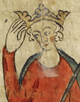 Edward II, King of England (British Library Royal MS 20 A II, fol. 10r).png