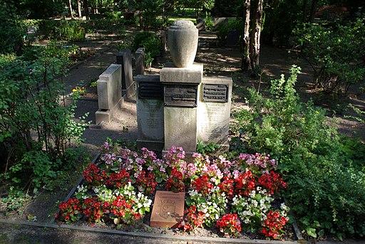 Ehrengrab Siegfried Ochs Urnenfriedhof Gerichtstraße