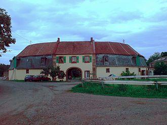 Waldmohr - Eichelscheiderhof 2–5: former Ducal Zweibrücken stud farm, Eichelscheider Hof