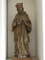Eisenerz - Nepomukstatue mit abgesägten Armen im Durchgang bei der Liebfrauenkirche.jpg