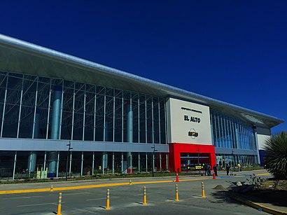 Cómo llegar a Aeropuerto Internacional El Alto en transporte público - Sobre el lugar