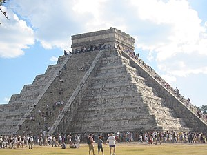 "Itza people - ""El Castillo"" at Chichen Itza"
