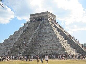 "Itza people - ""El Castillo"" at Chichen Itza"