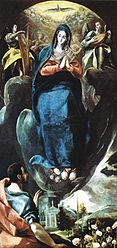 The Virgin of the Immaculate Conception and St John
