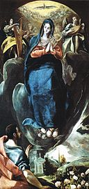 El Greco - The Virgin of the Immaculate Conception and St John - WGA10466.jpg