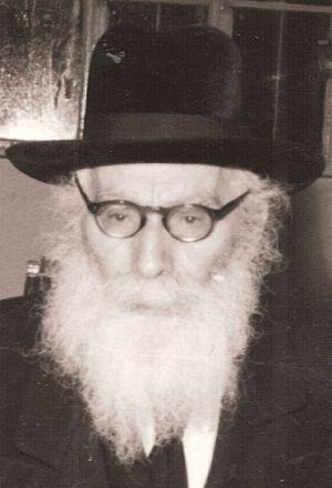 Eliezer Yehuda Finkel (Mir rosh yeshiva, Poland and Jerusalem) - Image: Eliezer Yehuda Finkel