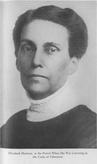 Elizabeth Harrison (educator) - Photograph from Sketches Along Life's Road