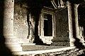 Ellora Caves, India, Dashavatara Temple, Cave 15.jpg