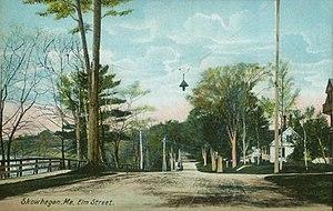 Skowhegan, Maine - Image: Elm Street, Skowhegan, ME