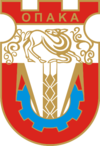 Coat of arms of Opaka