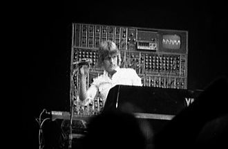Organ trio - Keith Emerson of Emerson, Lake & Palmer, Maple Leaf Gardens, Toronto 1978
