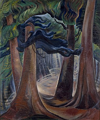 Glenbow Museum - Image: Emily Carr Among the Firs 139A