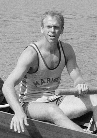 Emory Clark - Clark at the 1964 European Championships