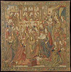 Emperor Vespasian Cured by Veronica's Veil