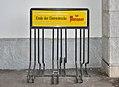 Ende der Durststrecke, Murauer bicycle rack, Millstatt.jpg