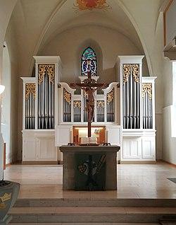 Endersbach (Weinstadt), Evangelische Kirche, Orgel (3).jpg