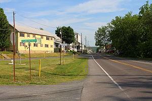 Washingtonville, Pennsylvania - Entering Washingtonville from Pennsylvania Route 54
