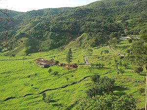 Chorro El Indio National Park - Image: Entrada del cacerío Pedraza,Parque Chorro El Indio