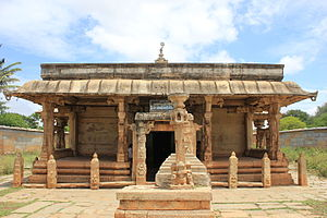 Ranganathaswamy Temple, Nirthadi - Image: Entrance to Ranganatha Swamy temple at Neerthadi